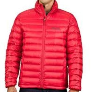 NWT! Marmot Azos Down Jacket Red 700 Fill